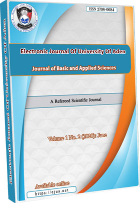 Electronic Journal of University of Aden For Basic and Applied Sciences